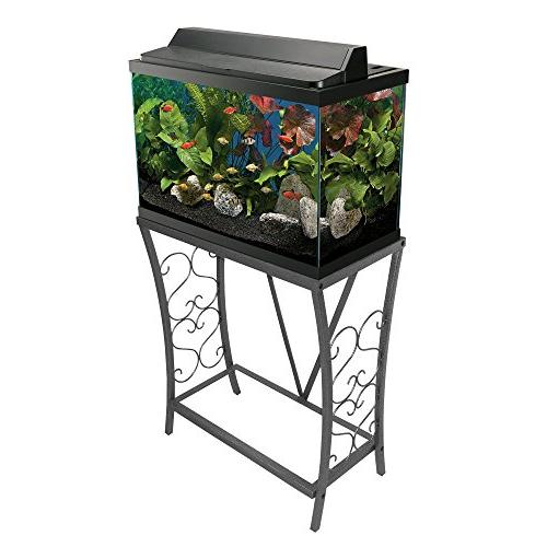 Aquatic Fundamentals 20 Gallon Scroll Aquarium