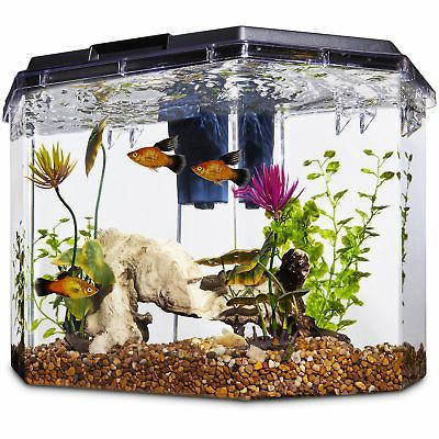 semi hexagonal aquarium kit