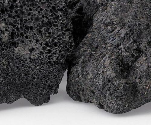 "Set of 2 Large 5-6"" Black Lava"