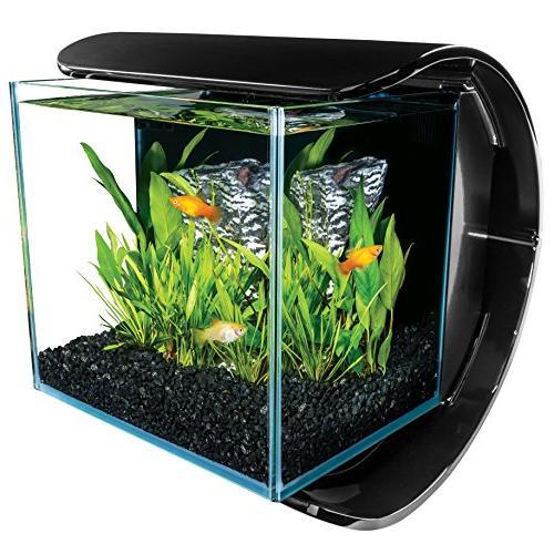 silhouette desktop aquarium