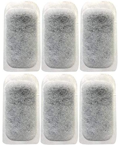 six replacement filter cartridges bt1