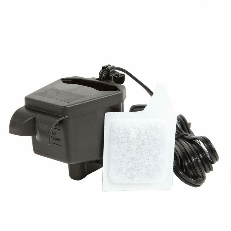AquaView 2-Gallon Tank Power Filter and Lighting