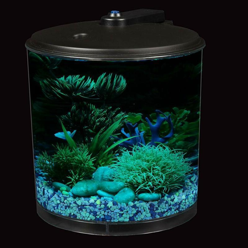 AquaView Tank Bowl Aquarium with Power and Lighting