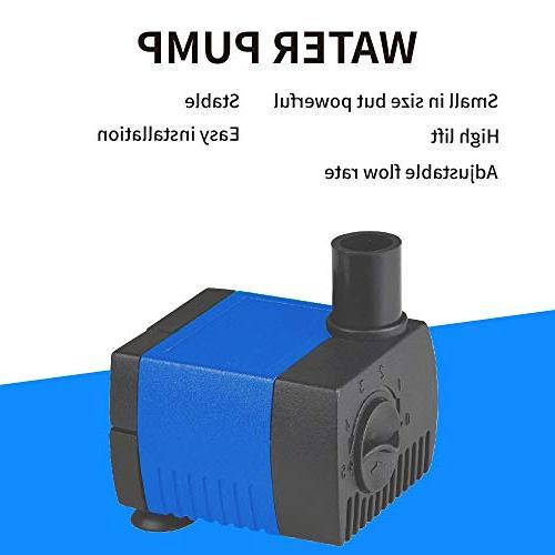 JAJALE GPH Submersible Water Pump