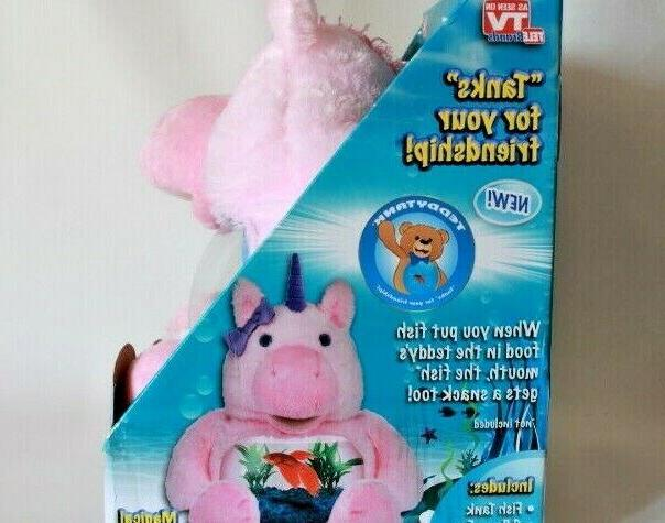 AS ON TV TEDDY UNICORN TANKS FOR FISH