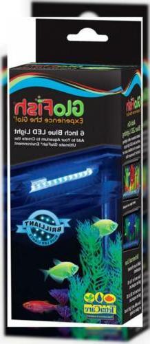 Tetra Care GloFish 6 Inch Blue LED Aquarium Light, 1 ct - 29
