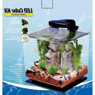 Tetra LED Shaped 3 Aquarium Pedestal Base NEW!!