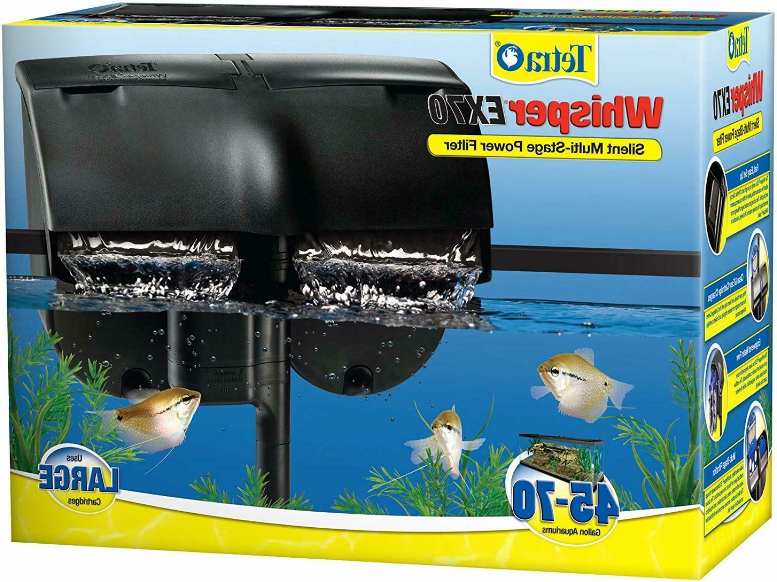 Tetra Whisper EX Silent Multi-Stage Power Filter for Aquariu