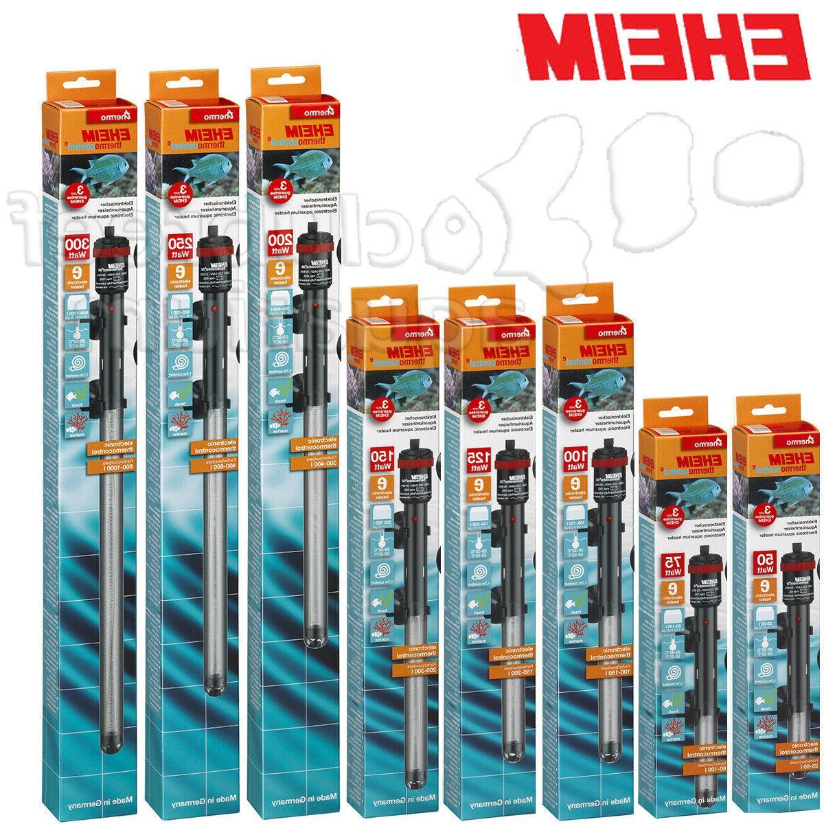 thermocontrol e submersible aquarium heater 50 75