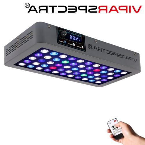 VIPARSPECTRA Timer Control 165W LED Aquarium Light Full Spec