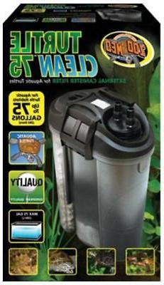 Zoo Med Turtle Clean External Canister Filter, 75-Gallon
