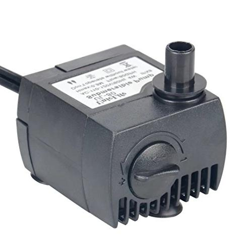 Uniclife Submersible Pump 6ft Cord Fountain Pond