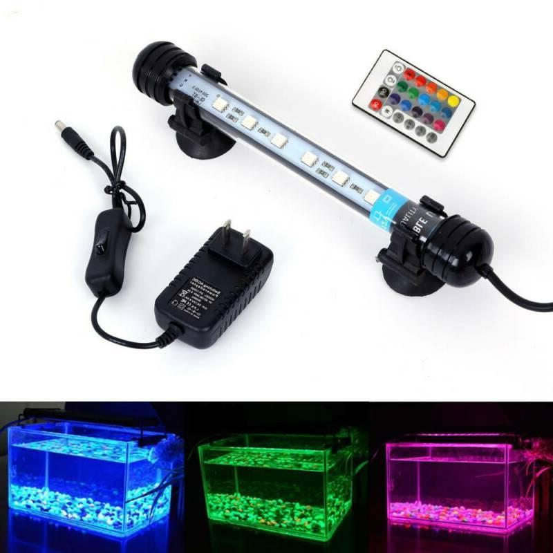 underwater submersible aquarium fish tank rgb led