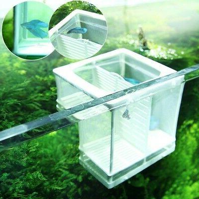 US Aquarium Fish Guppy Net Box Hatchery Tool