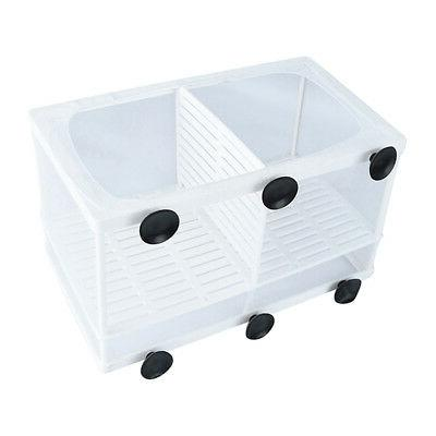 US Fish Tank Guppy Net Trap Box Tool