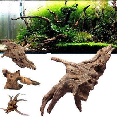 US Driftwood Trunk Plant Ornament