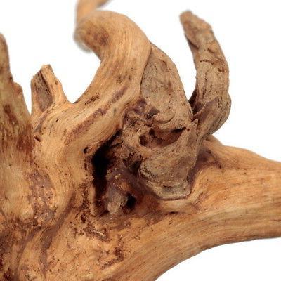 US HOT Driftwood Trunk Plant Aquarium Ornament