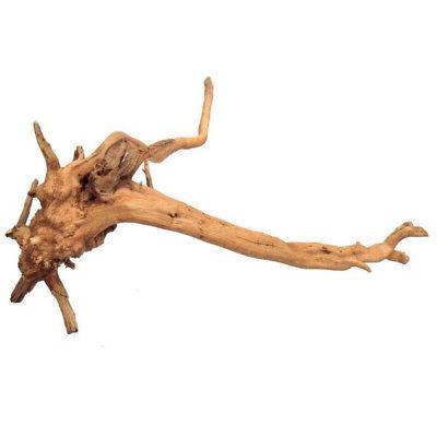 US Fish Driftwood Natural Wood Tree Trunk Ornament