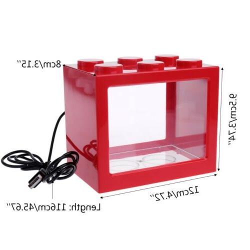 USB Aquarium Tank Light Cylinder