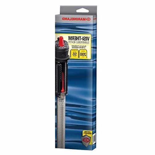visi therm submersible aquarium heater