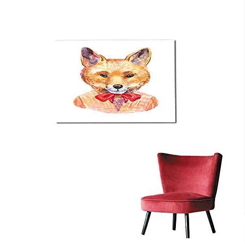wallpaper fox hipster hand drawn
