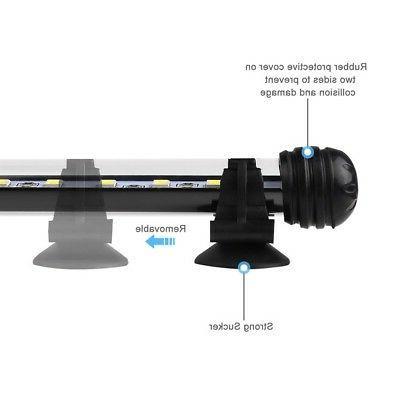 Waterproof Aquarium Fish Tank Submersible LED Bar Lighting Blue