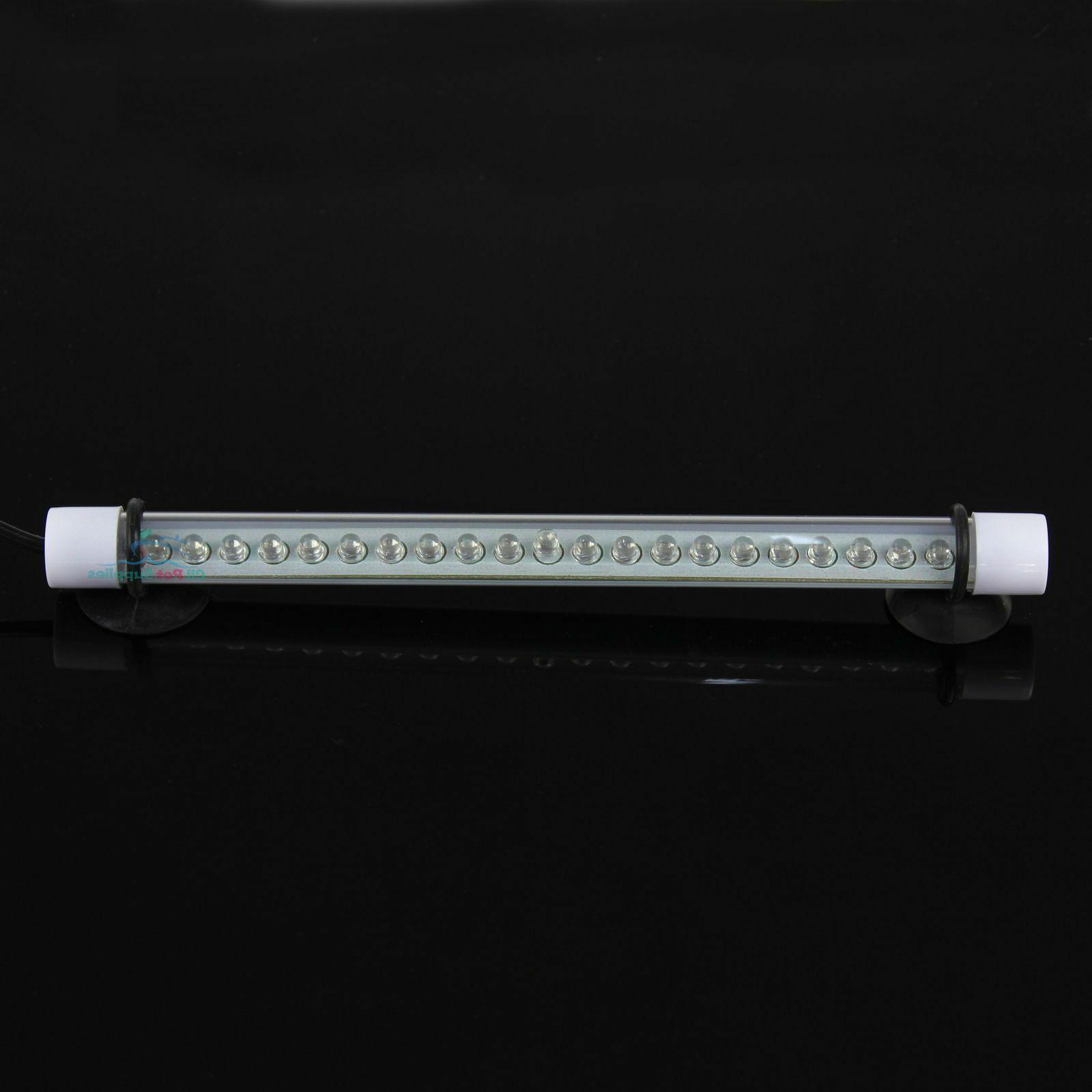White LED Underwater Stick Strip Lamp Aquarium Fish Tank