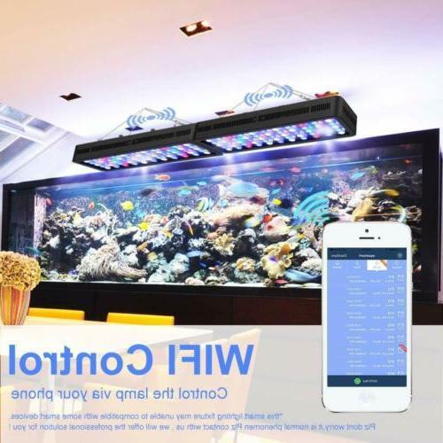 WiFi Aquarium 165W Light Spectrum for