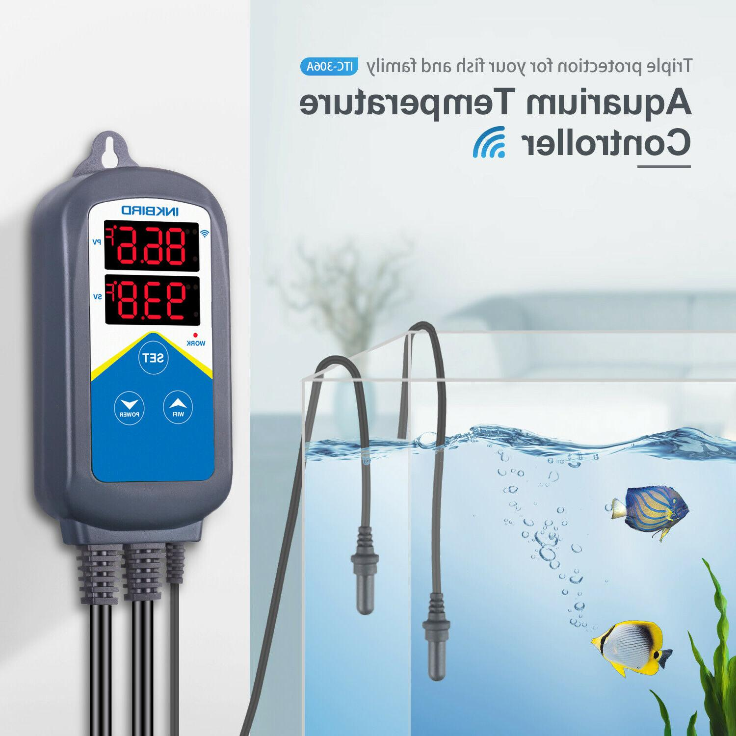 Inkbird Aquariums Tanks Overheat Thermostat
