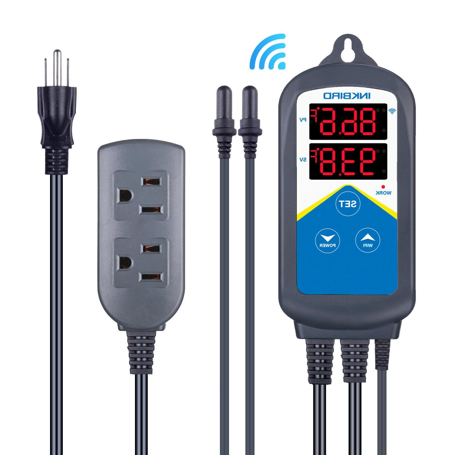 wifi temperature controller aquariums tanks overheat protect