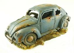Large VW Beetle Aquarium Ornament, Fish Tank Decoration,  Vo