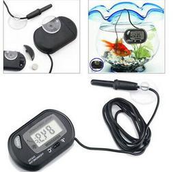 LCD Digital Fish Tank Reptile Aquarium Water Meter Thermomet