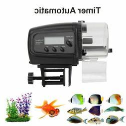 LCD Display Auto Fish Feeder Aquarium Tank Fish Food Automat
