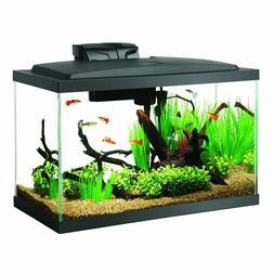 Led Aquarium Aqueon 10 Fish Starter Gallon Kit Kits Tank Neo