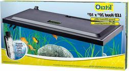 led aquarium hood low profile energy efficient
