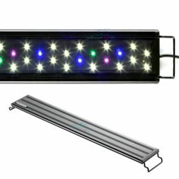 "AQUANEAT LED Aquarium Light Full Spectrum 24"" to 34"" Fish Ta"