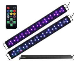 led aquarium light remote control color changing
