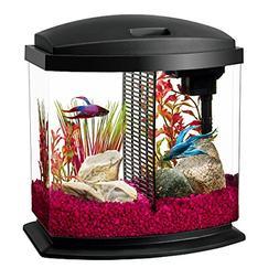 Aqueon LED BettaBow Aquarium Starter Kits with LED Lighting,