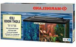 Marineland LED Light Hood for Aquariums, Day & Night Light,
