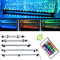 LED Waterproof Aquarium Fish Tank Lamp LED Submersible Bar l