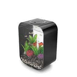 LIFE 15 Aquarium with LED Light - 4 gallon, black