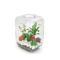 LIFE 15 Aquarium with LED Light - 4 gallon, transparent