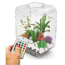biOrb Life 15 Liter Transparent Aquarium with MCR Lighting