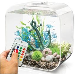 BiOrb Life 30 Liter Transparent Aquarium with MCR Lighting