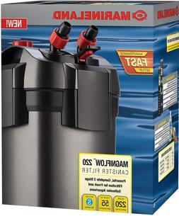 Marineland Magniflow Canister 220 for Aquarium Up to 55 Gall