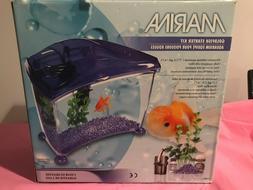 Marina Cool 7 Goldfish Aquarium Kit Pink