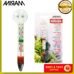 Marina Floating Thermometer With Suction Cup Aquarium Fish T