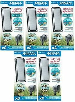 Hagen 15-Pack Marina Slim Aquarium Water Filter with Carbon