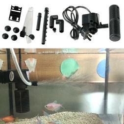 Mini 3 in 1 Plastic Aquarium Internal Filter Fish Tank Subme