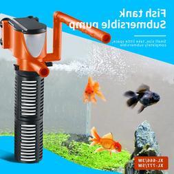 Mini Aquarium <font><b>Filter</b></font> 3in1 3W 5W Aquarium